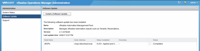 Upgrade vRealize Operations Manager to 6 6 | Let's v4Real